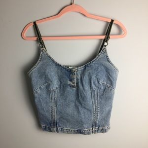 Newport News Jeanology Collection Top